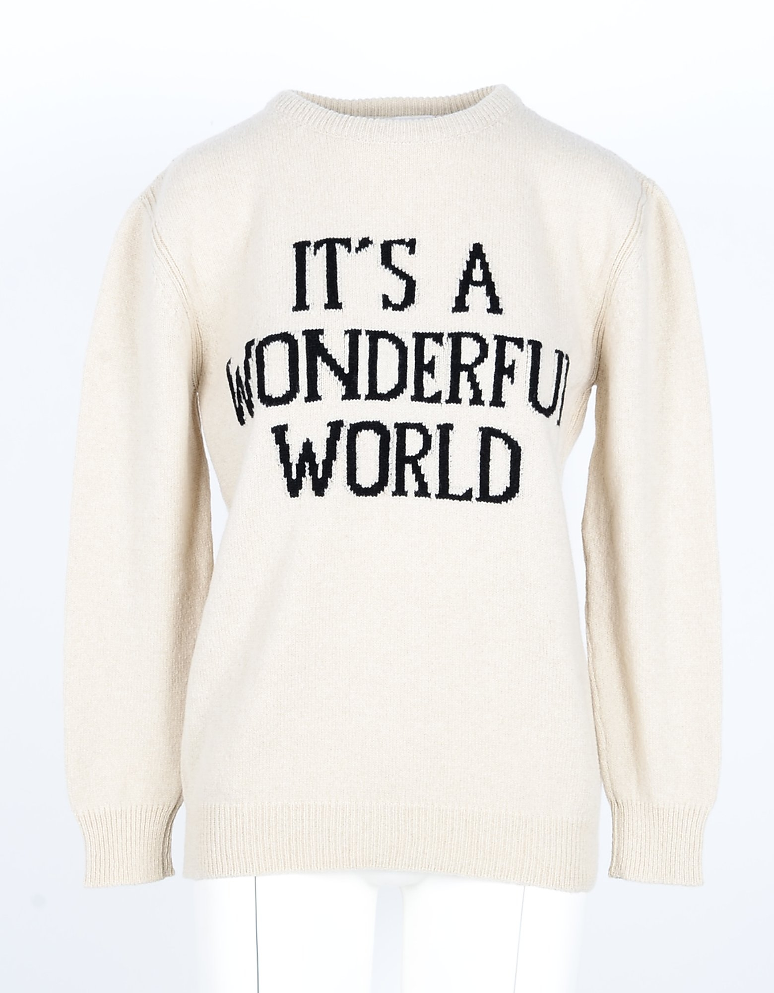 Alberta Ferretti Designer Knitwear, Cashmere Blend Women's Sweater