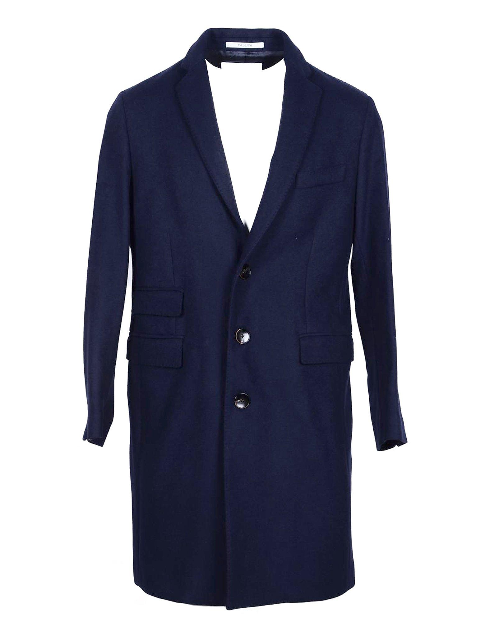 Aglini Designer Coats & Jackets, Men's Blue Coat