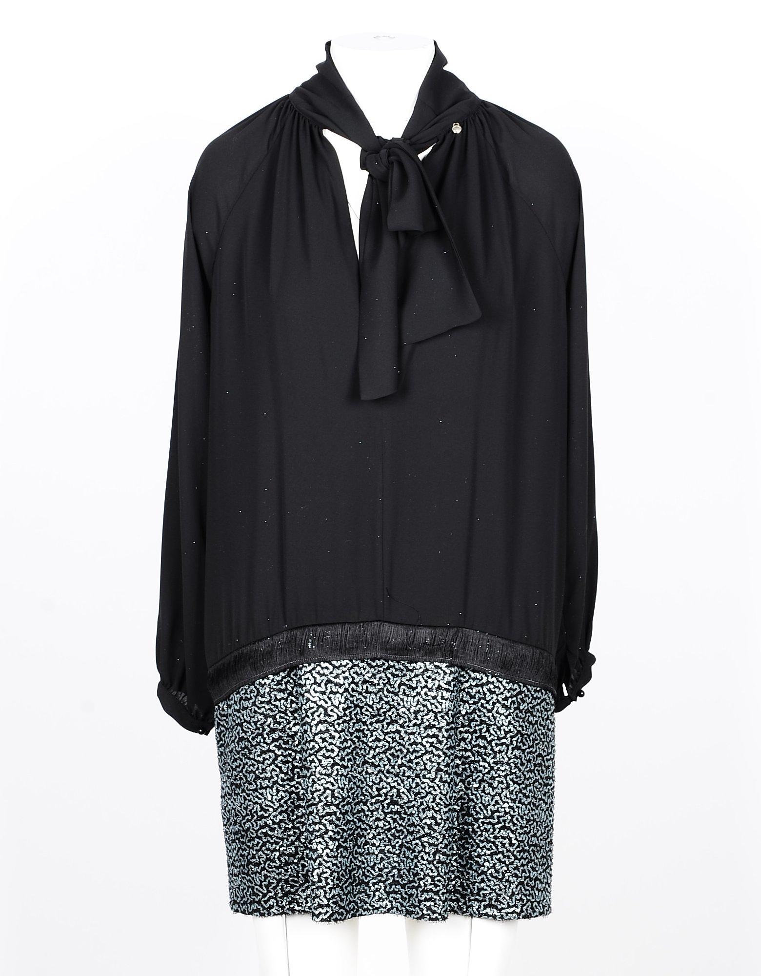 Annarita N Designer Dresses & Jumpsuits, Black Women's Mini Dress