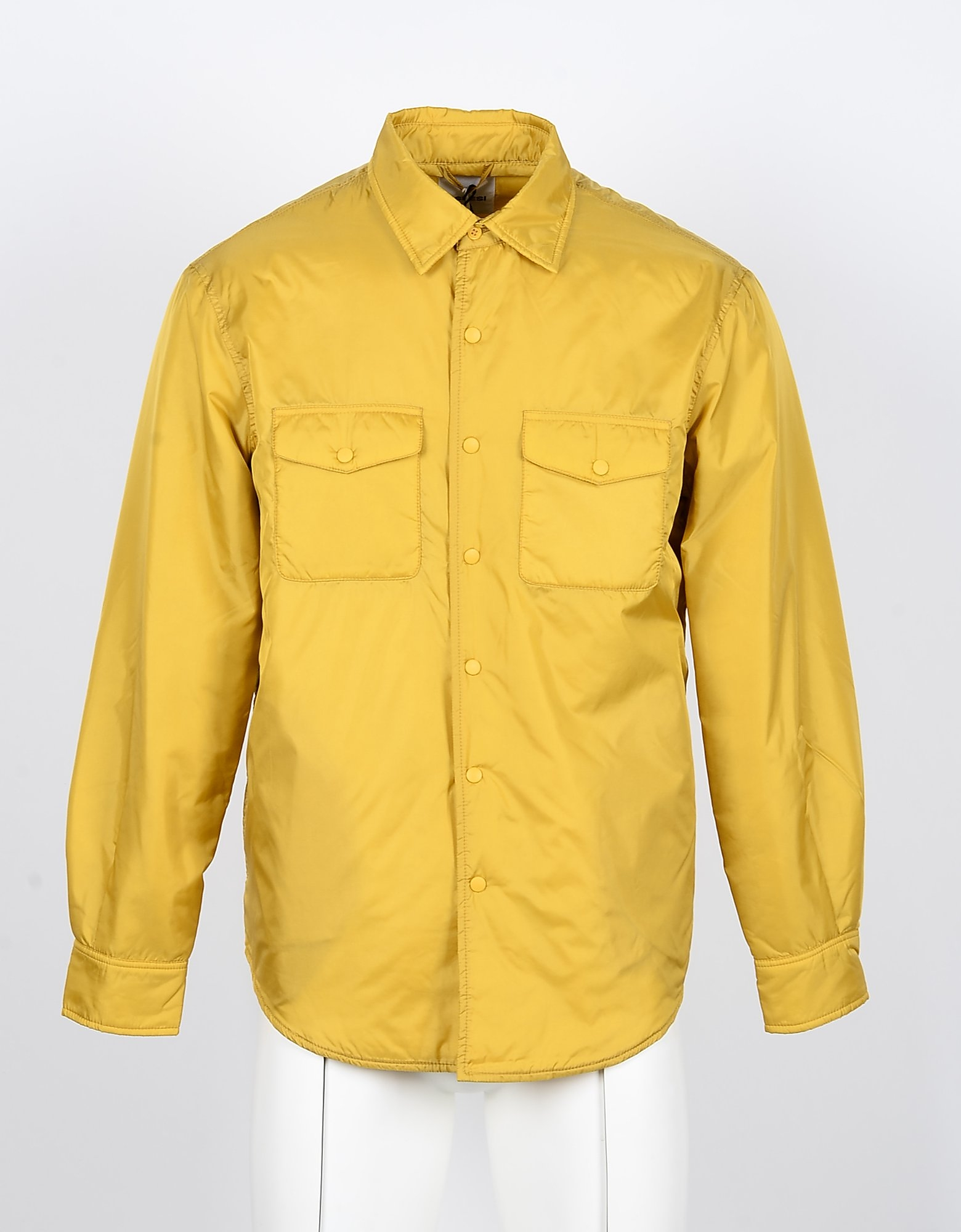 Aspesi Designer Shirts, Yellow Men's Shirt