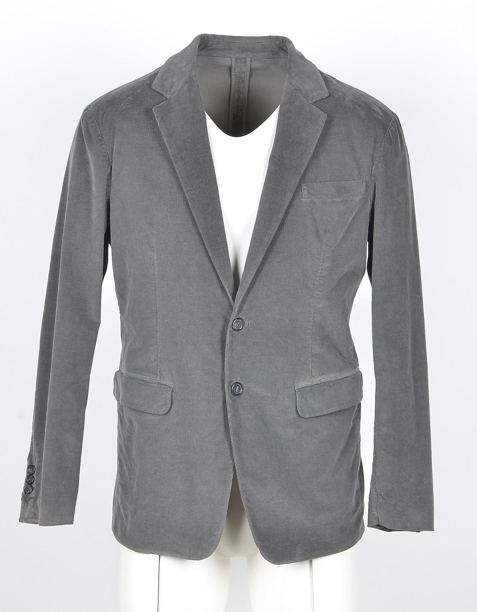 DSquared2 Designer Coats & Jackets, Men's Gray Blazer