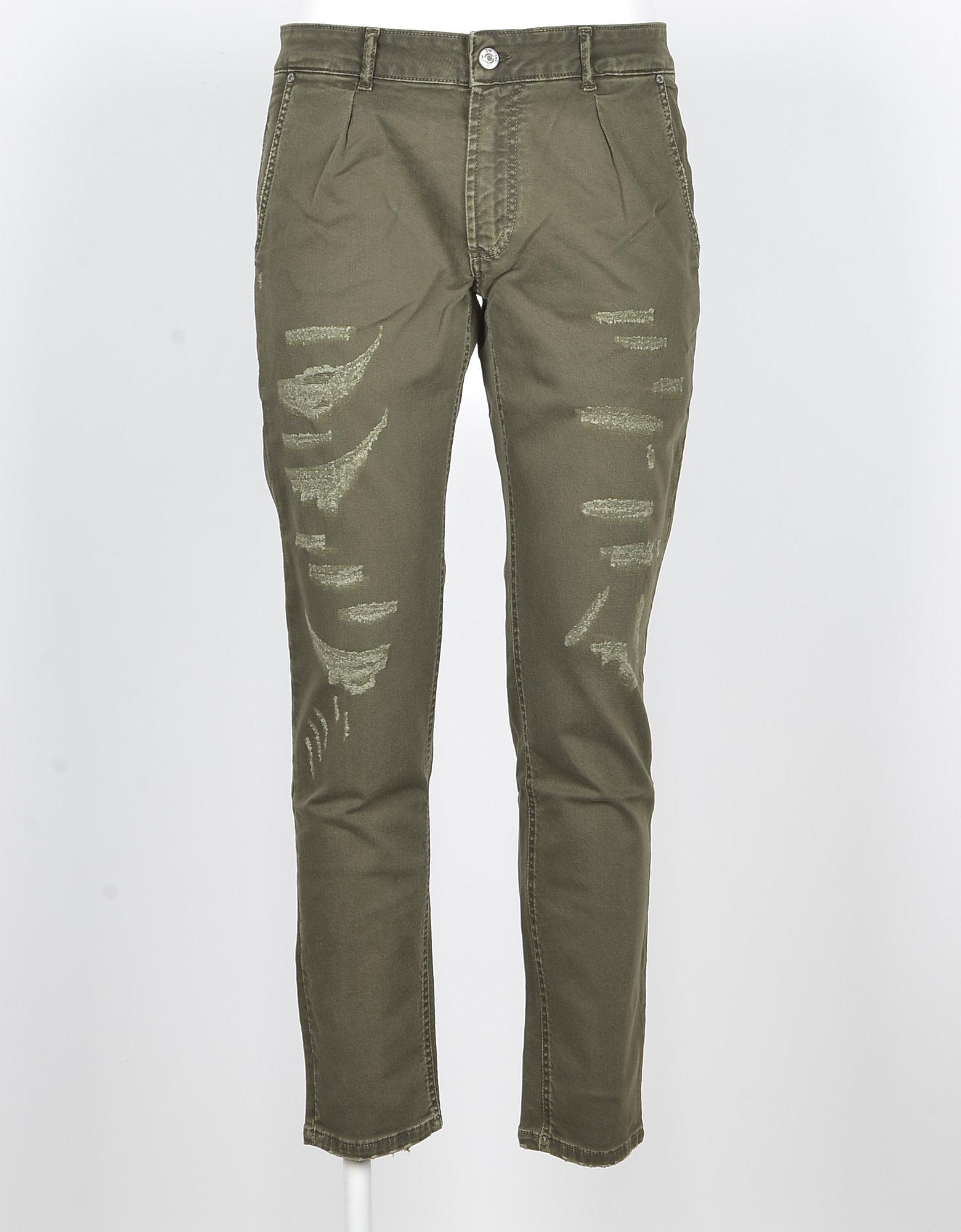 Dw Five Designer Pants, Men's Green Pants