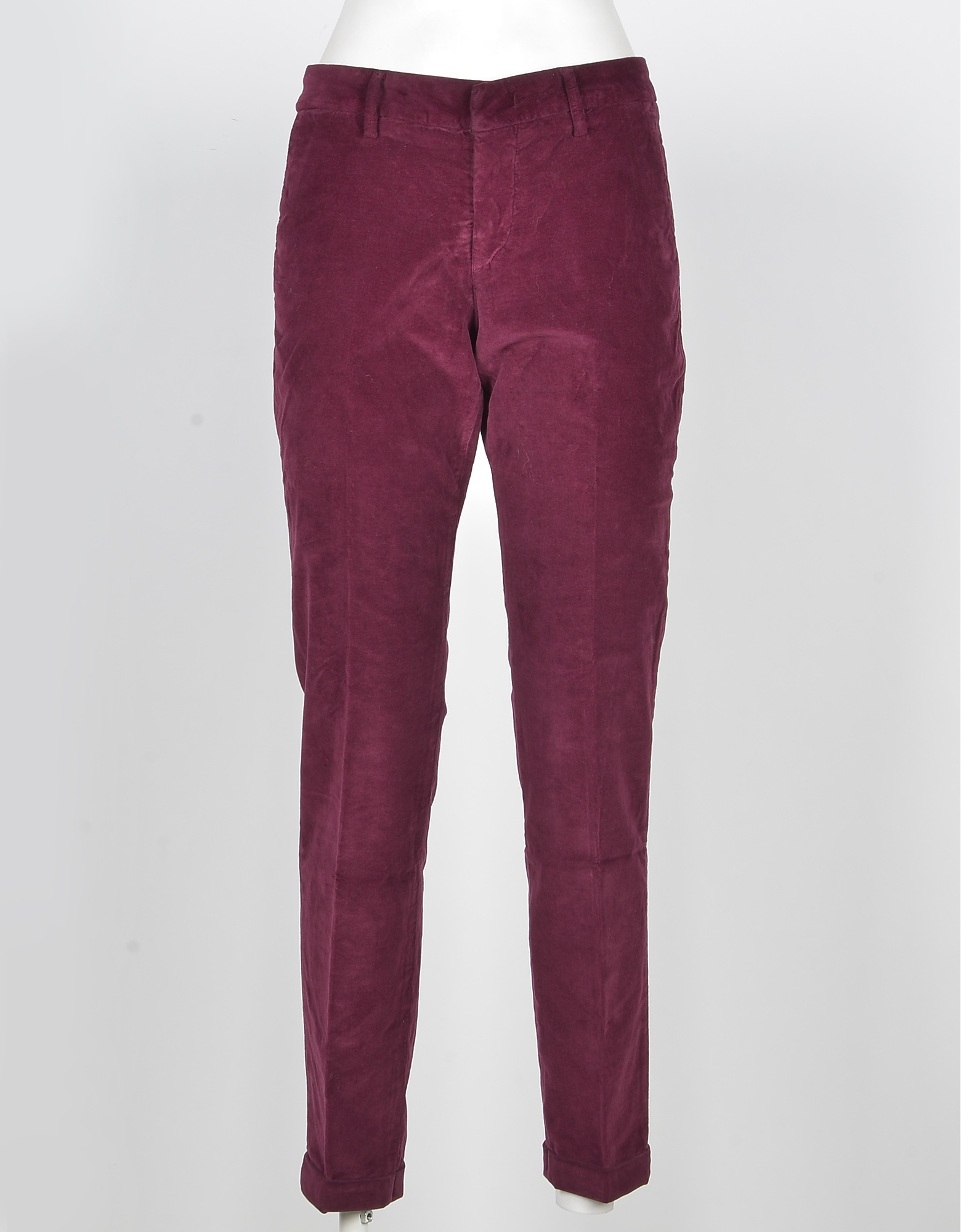 Fay Designer Pants, Women's Bordeaux Pants
