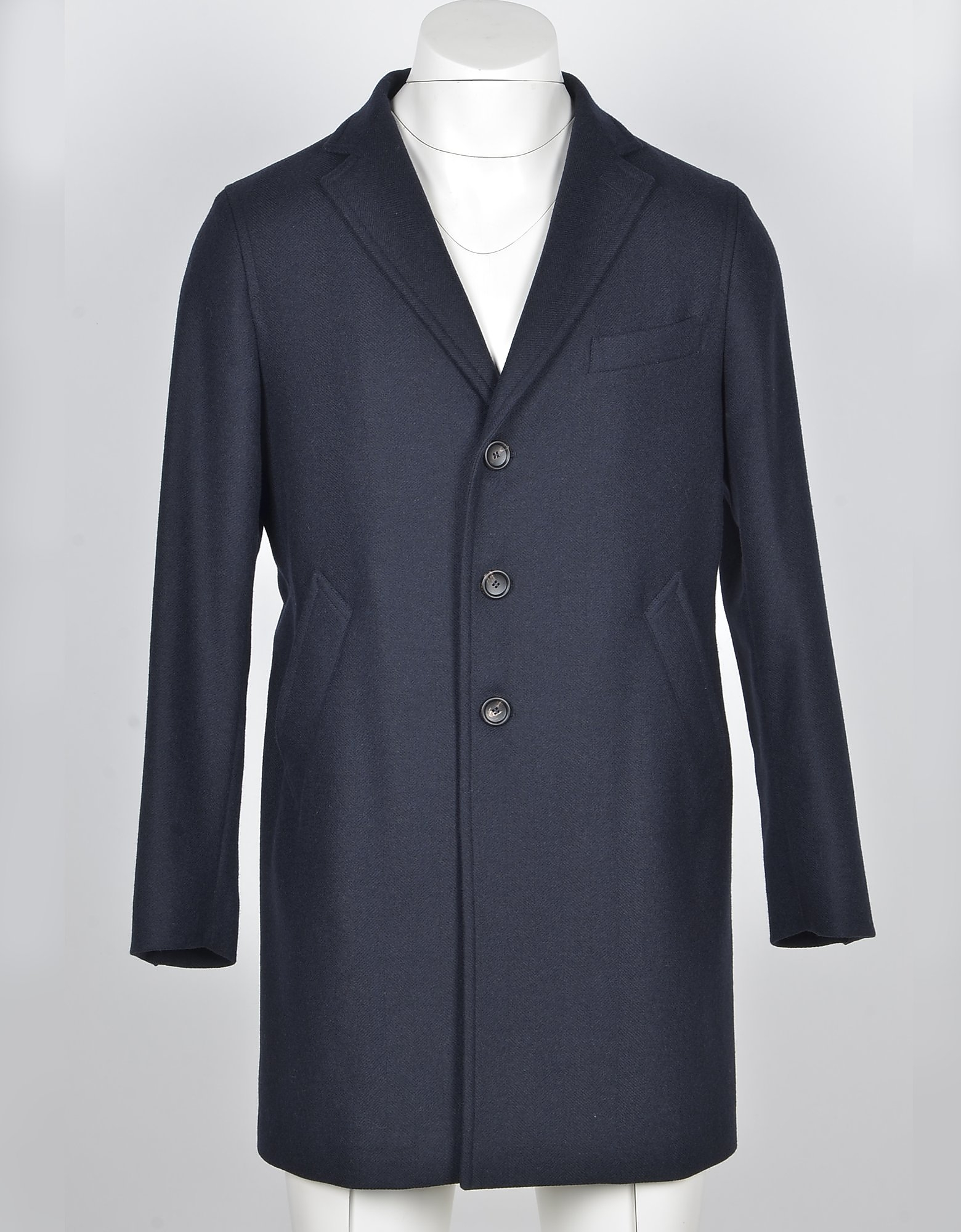 Fradi Designer Coats & Jackets, Men's Blue / Black Coat