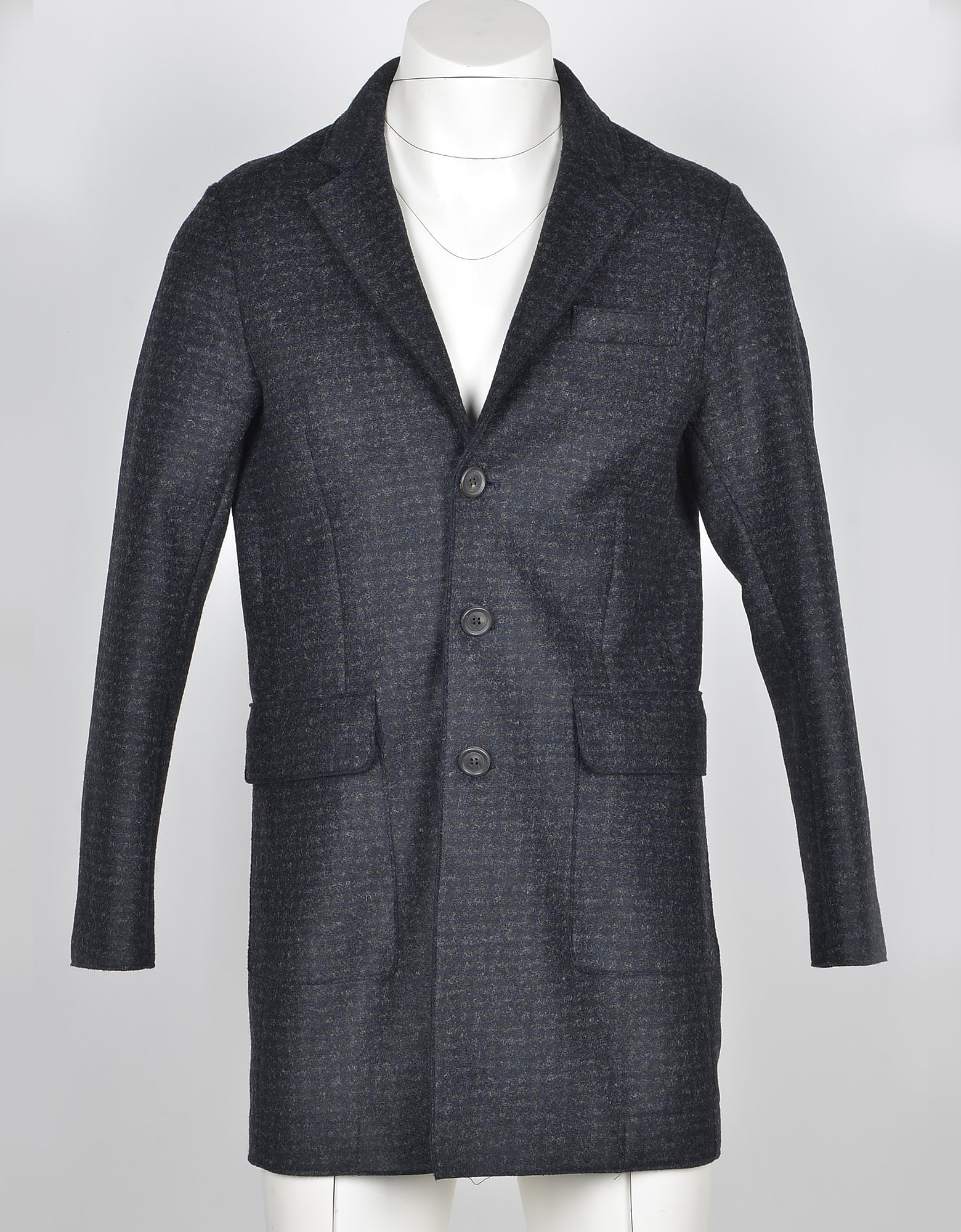Fradi Designer Coats & Jackets, Men's Anthracite Coat