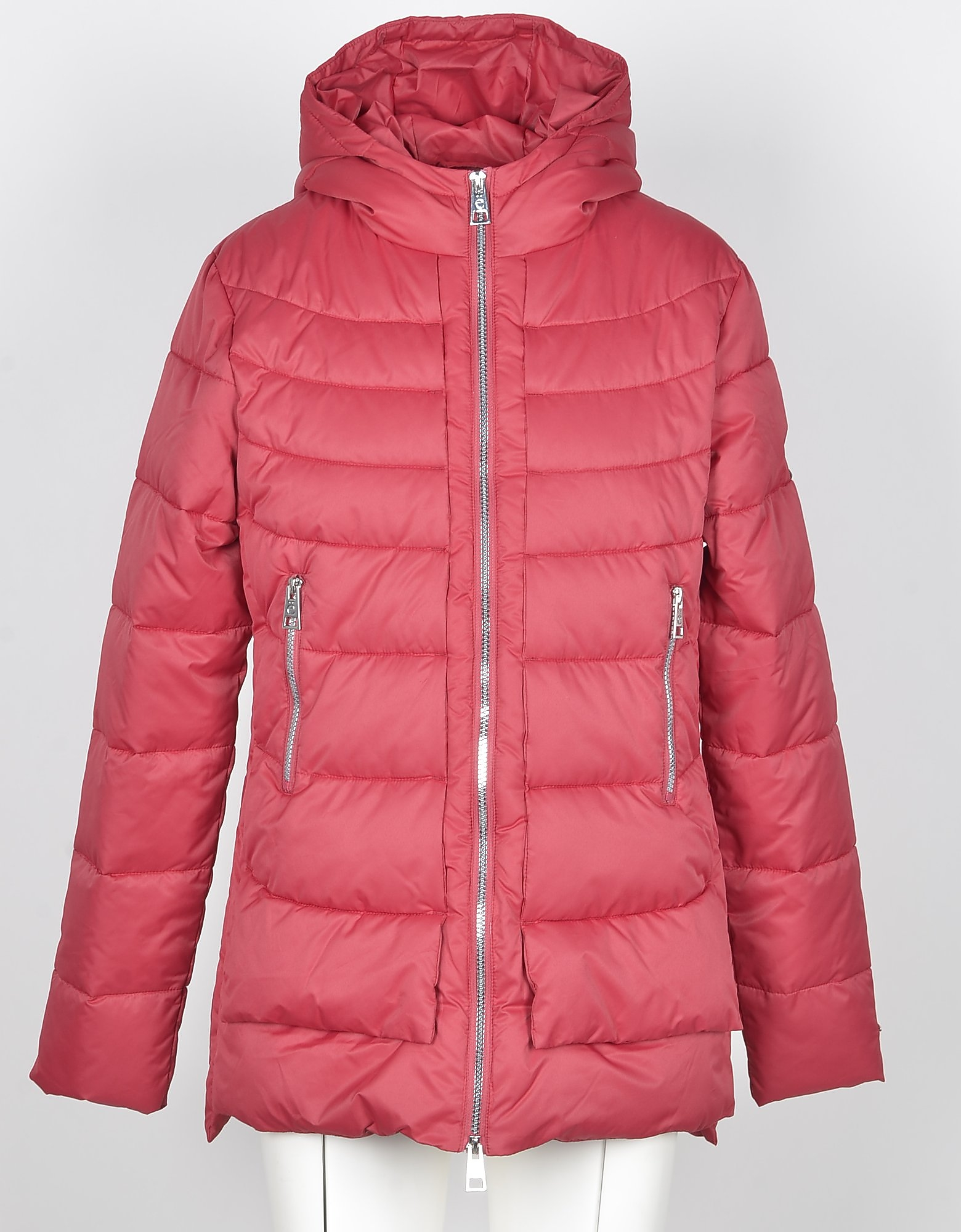 GAELLE PARIS Designer Coats & Jackets, Women's Red Padded Jacket