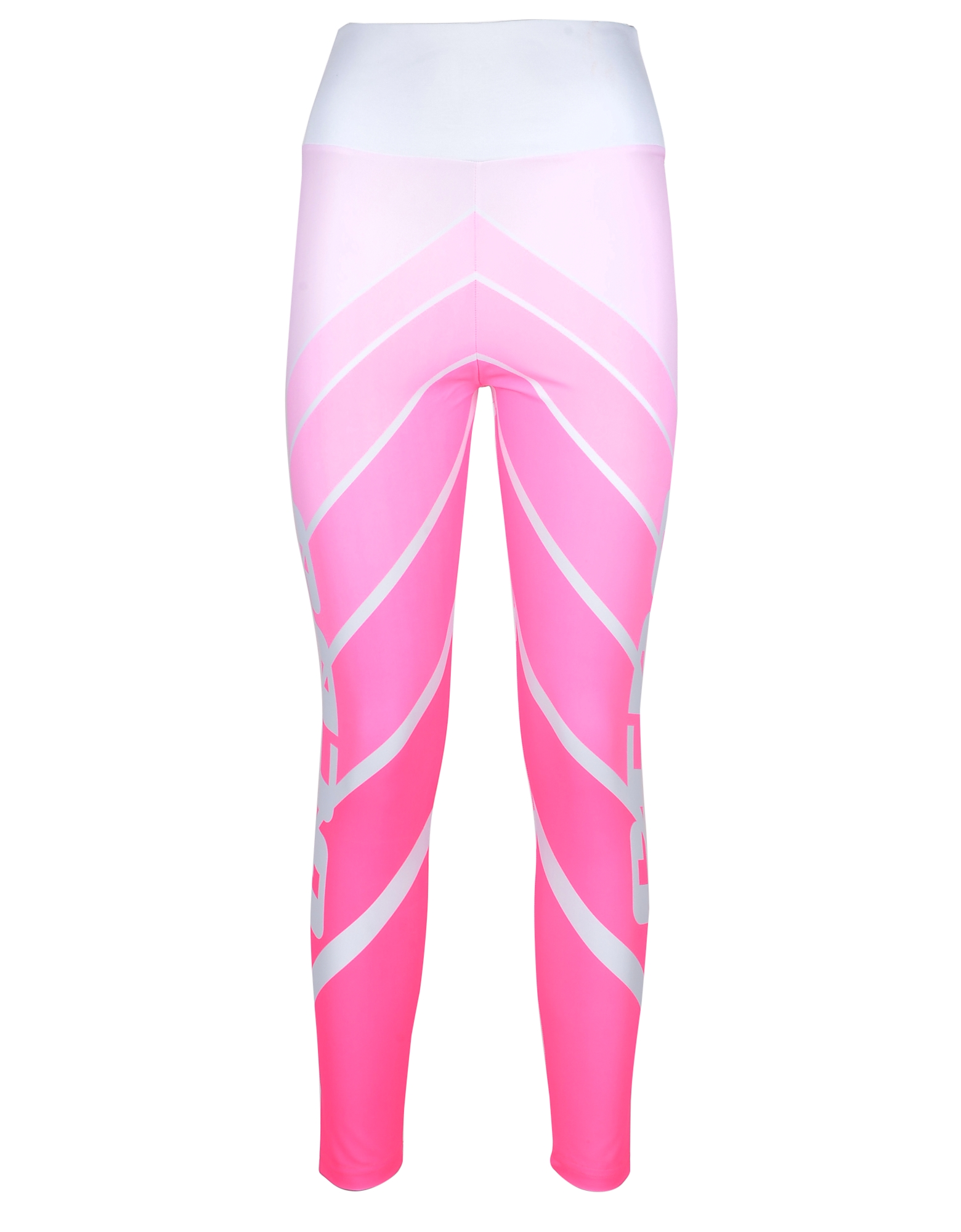 GCDS Designer Pants, Women's Pink Leggings