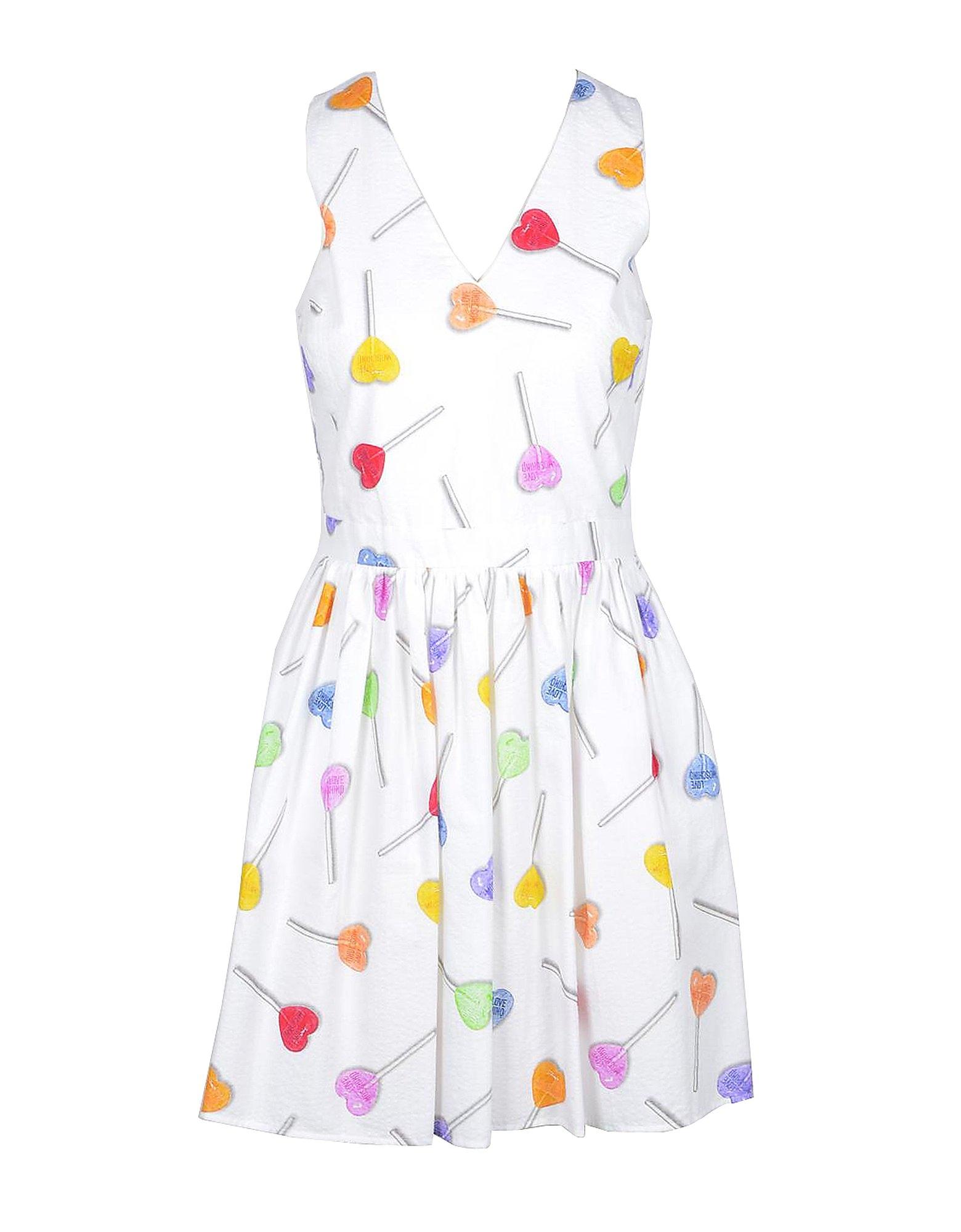 Love Moschino Designer Dresses & Jumpsuits, Women's White Dress