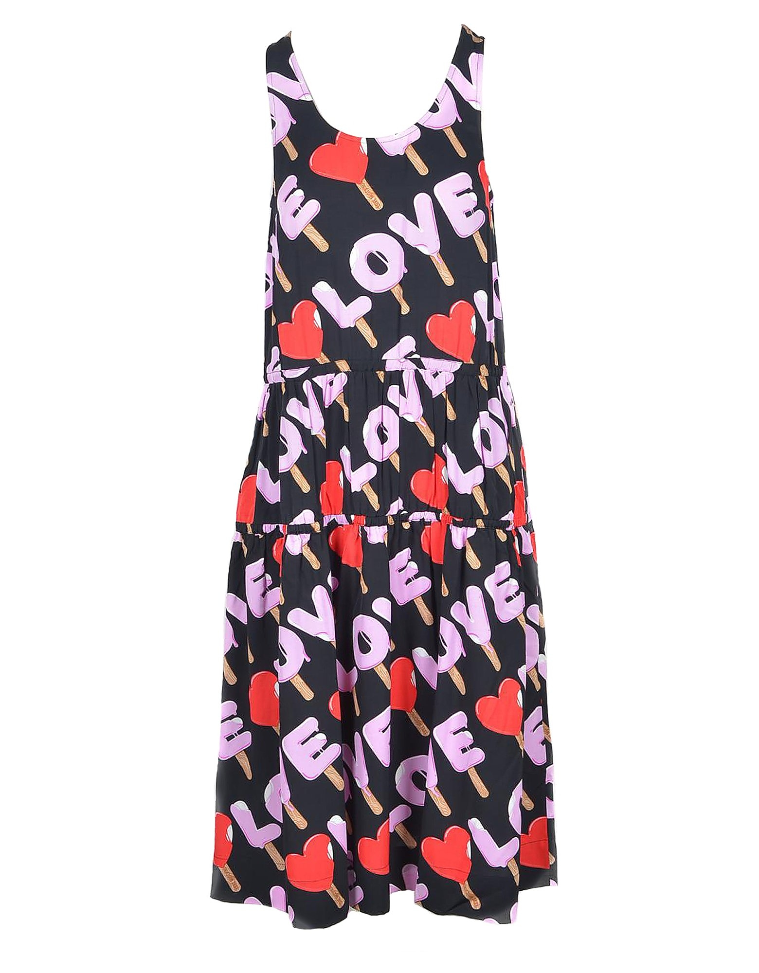 Love Moschino Designer Dresses & Jumpsuits, Women's Black / Pink Dress