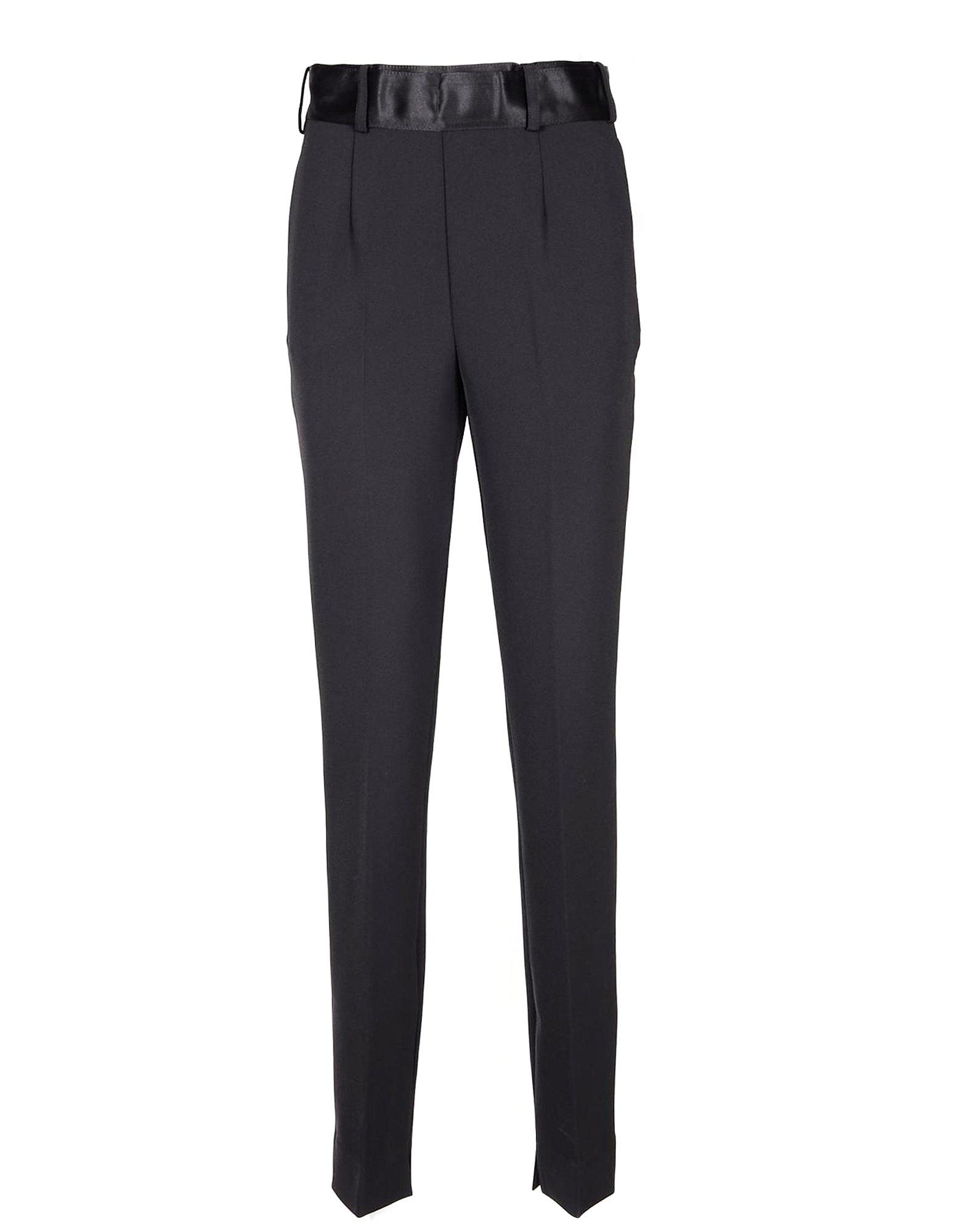 Manila Grace Designer Pants, Women's Black Pants