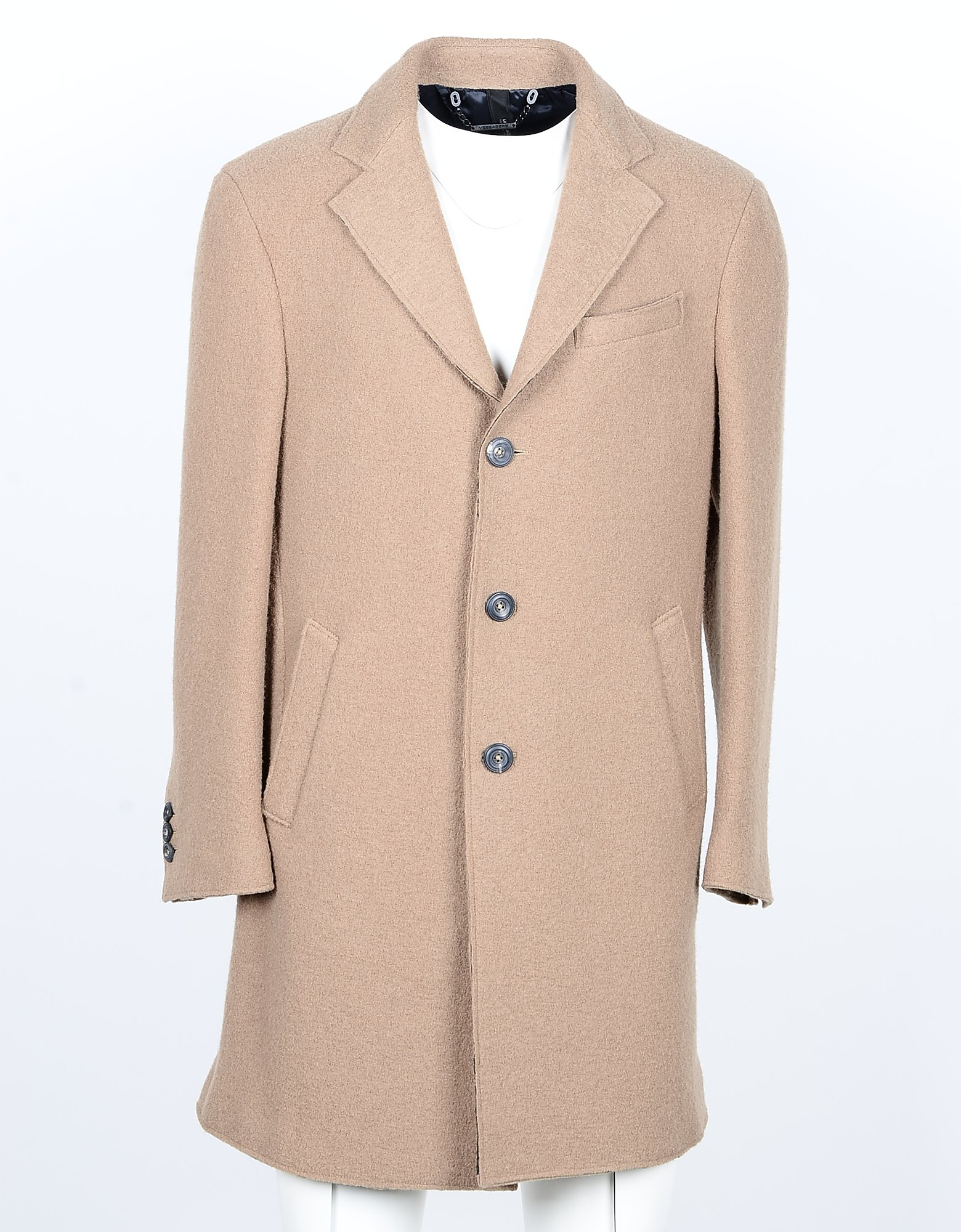 Messagerie Designer Coats & Jackets, Men's Beige Coat