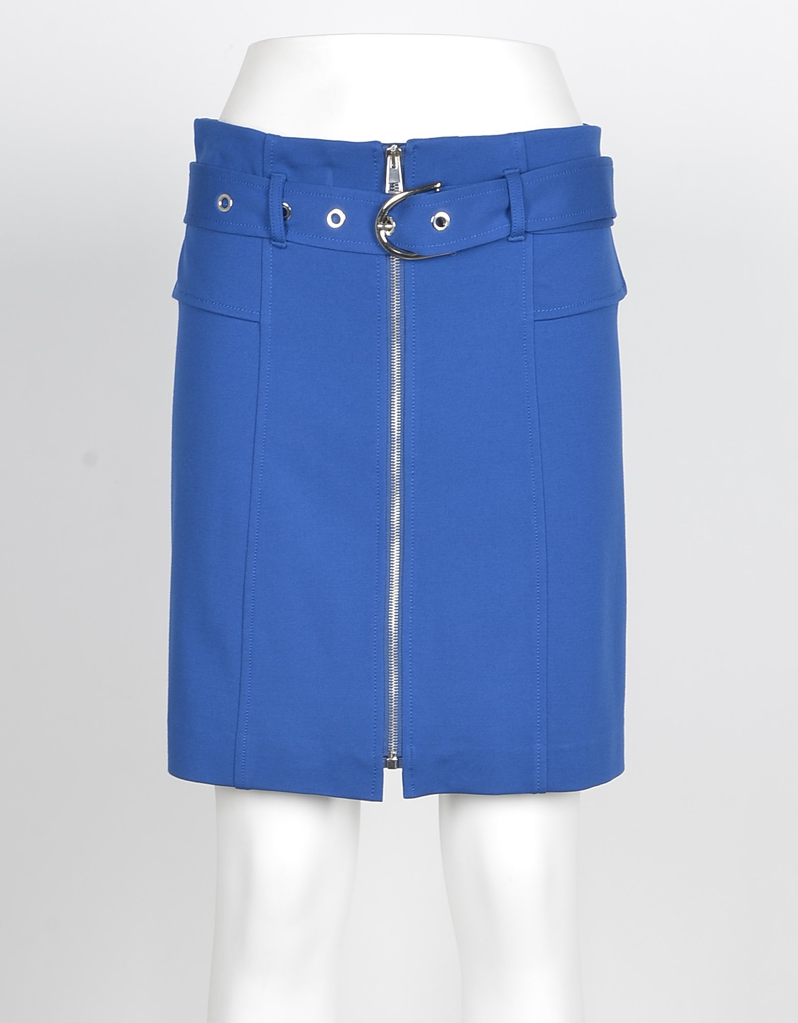 Pinko Designer Skirts, Women's Light Blue Skirt