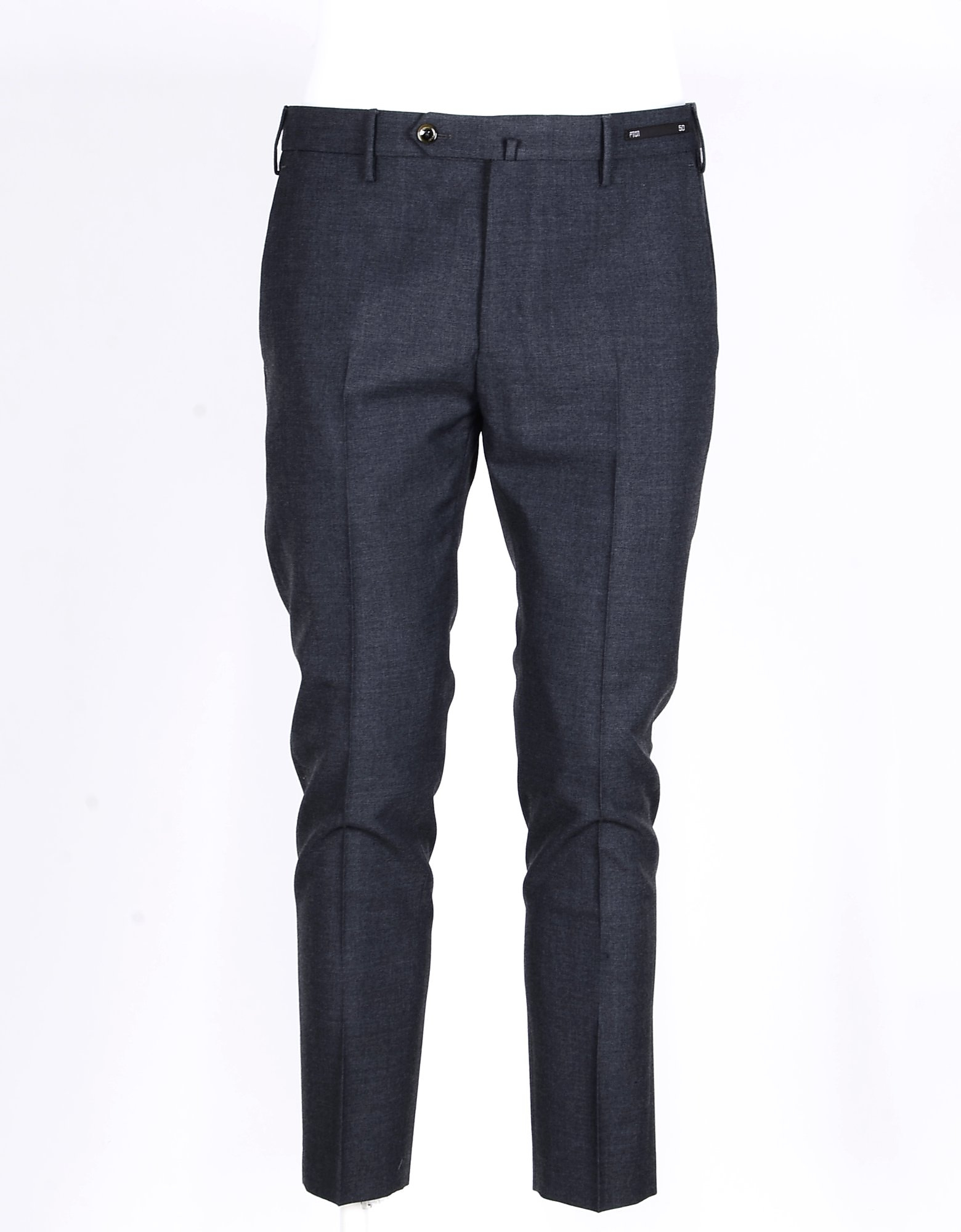 PT01 Designer Pants, Men's Gray Pants