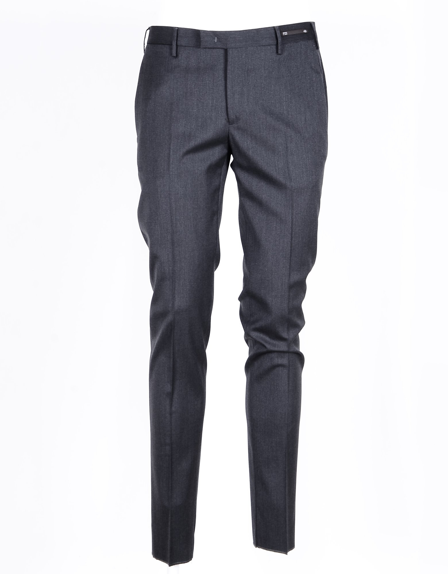 PT01 Designer Pants, Men's Anthracite Pants