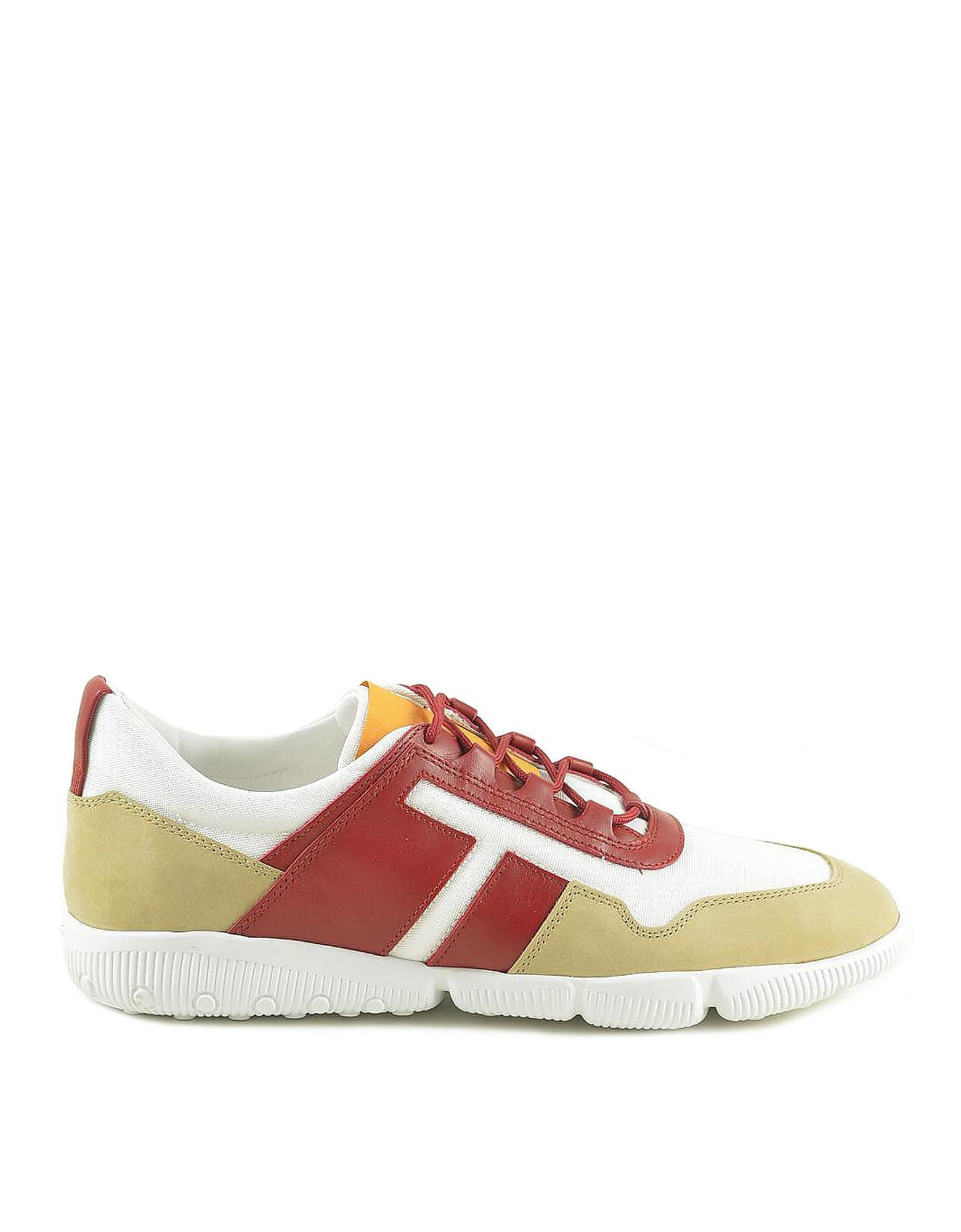 Tod's Designer Shoes, Men's Red Sneakers