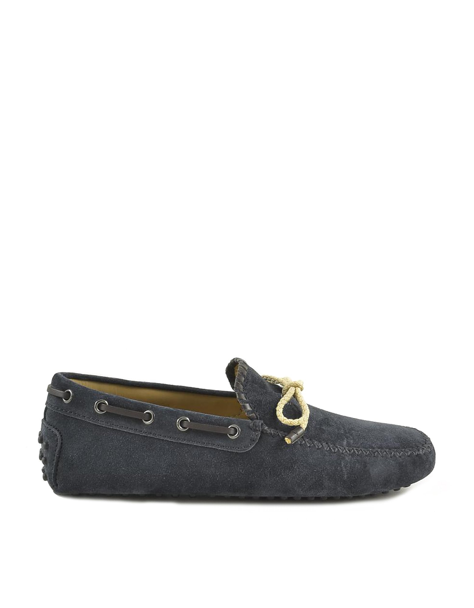 Tod's Designer Shoes, Men's Blue Loafer Shoes