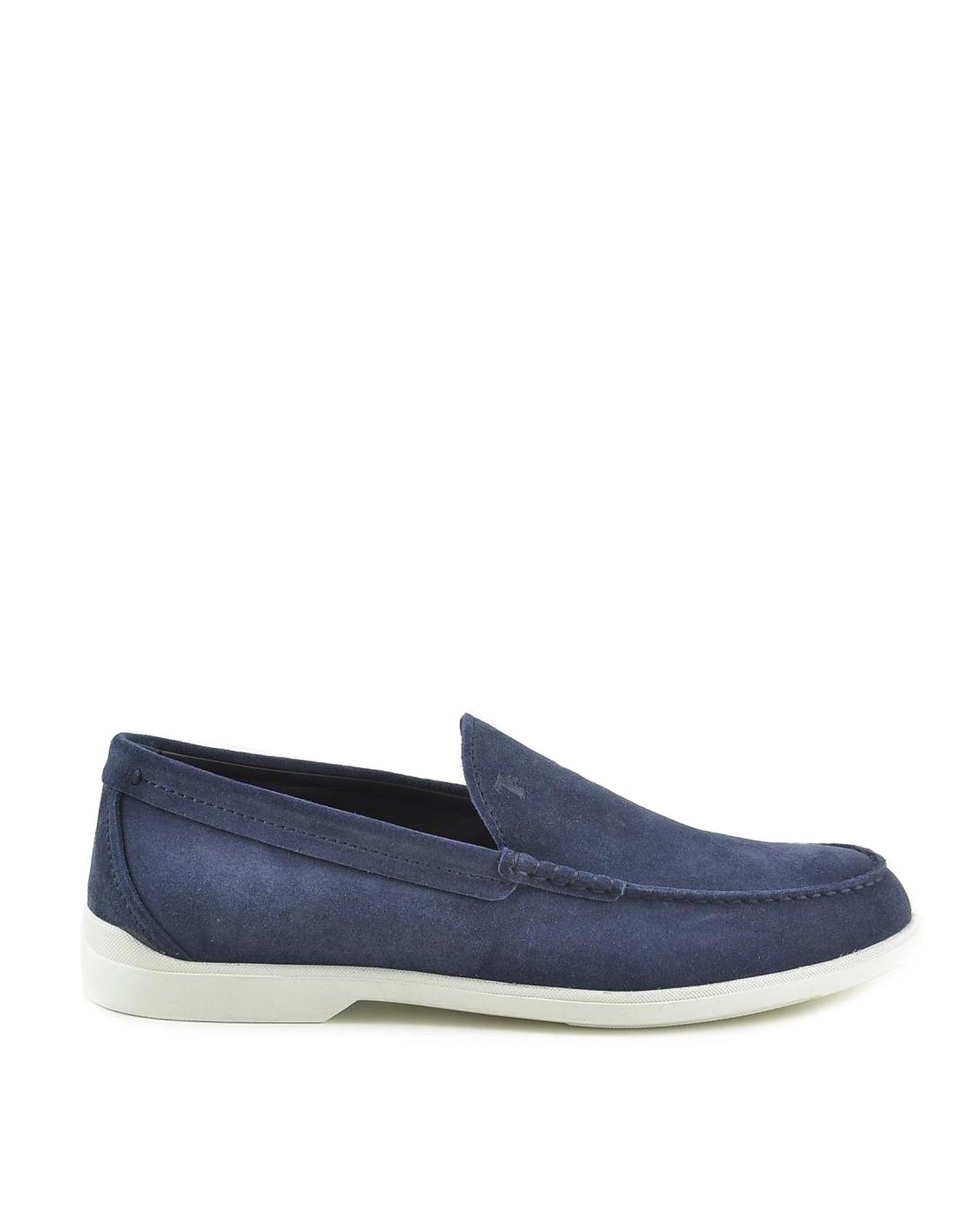 Tod's Designer Shoes, Men's Blue Shoes