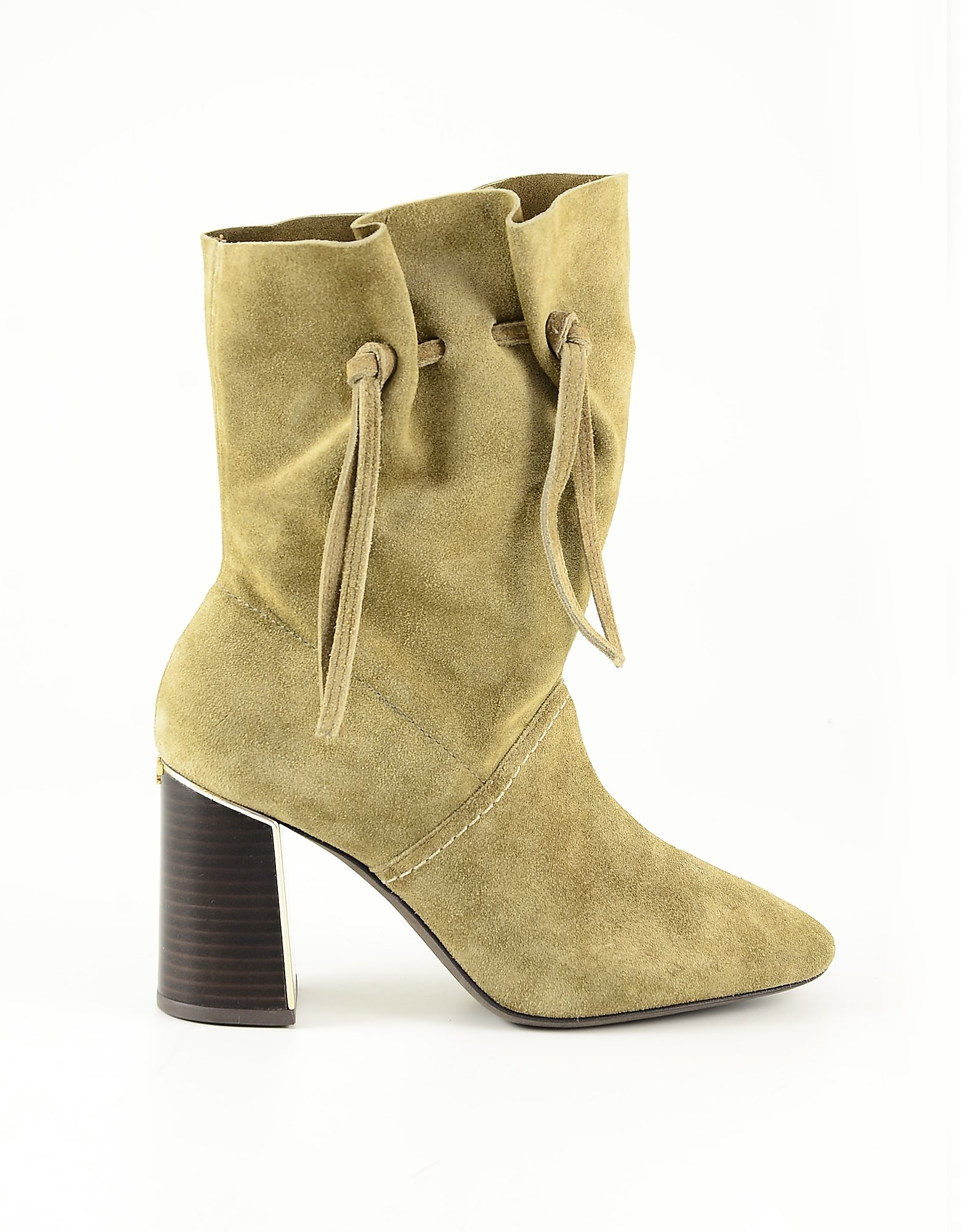 Tory Burch Designer Shoes, Sand Suede Women's Boots