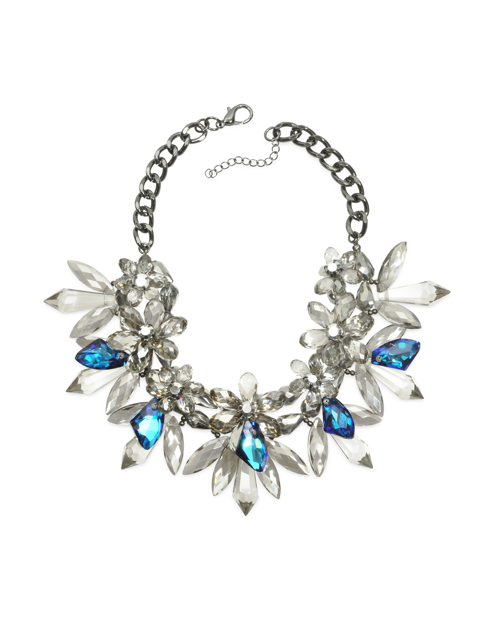 Anabela Chan Designer Necklaces, Crystal Bloom Necklace