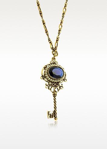 Key Pendant Necklace - Alcozer & J