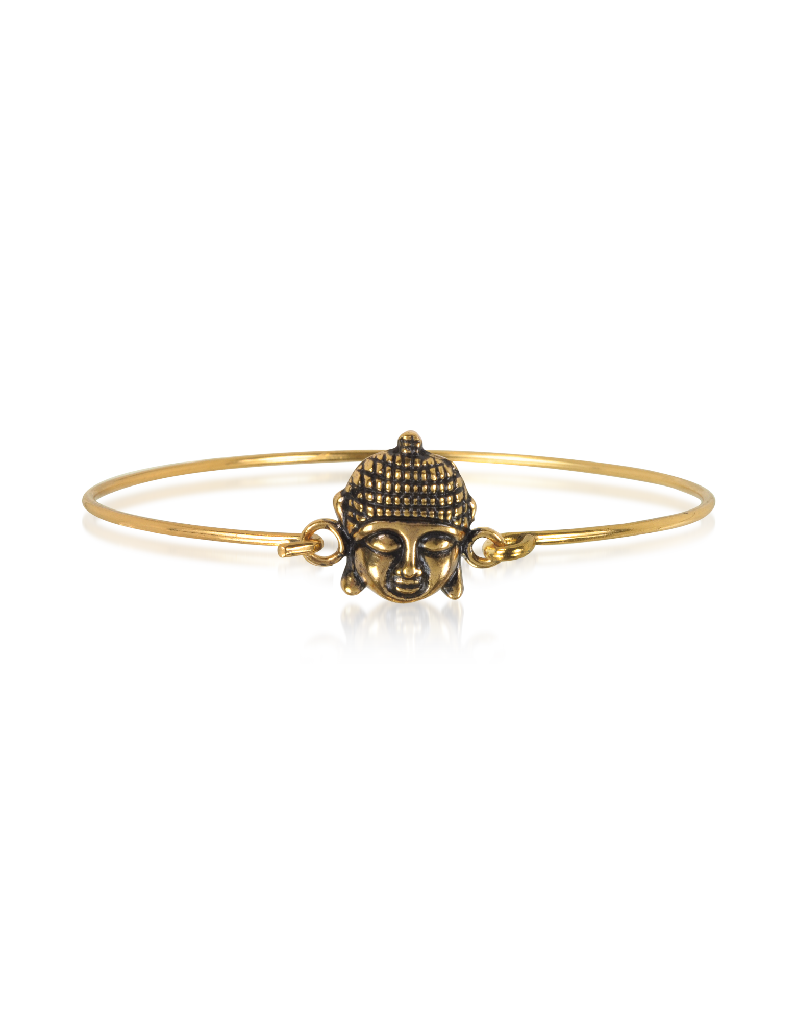 Image of Brass Buddha Bangle
