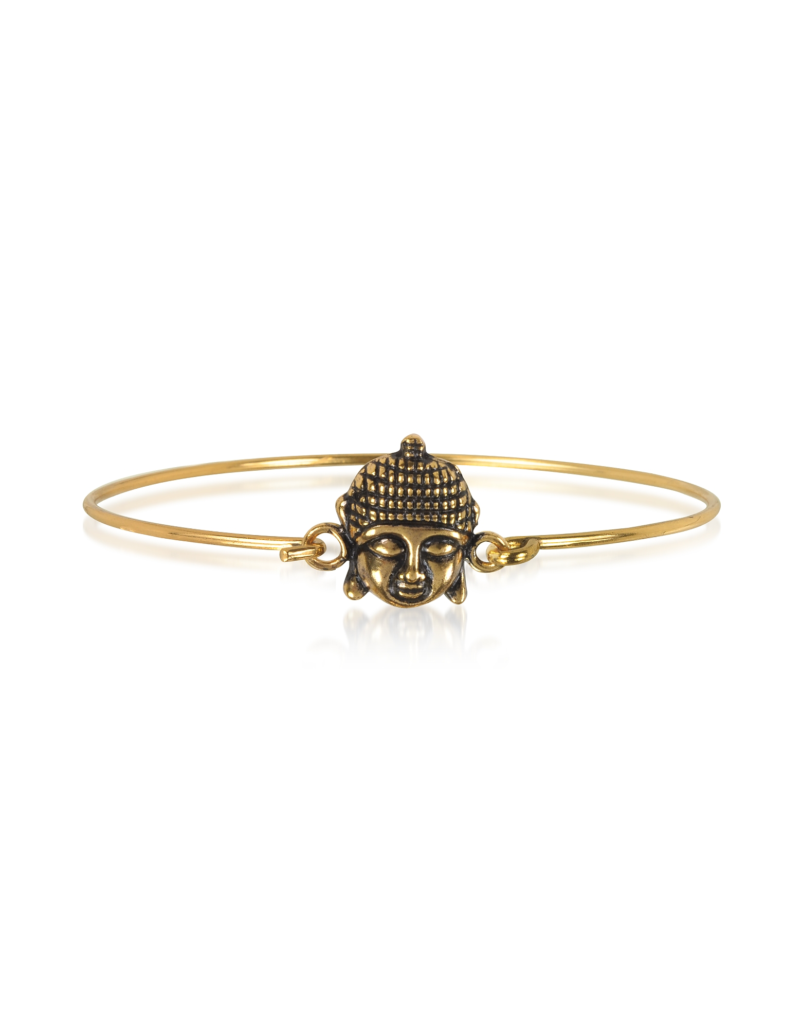 Brass Buddha Bangle
