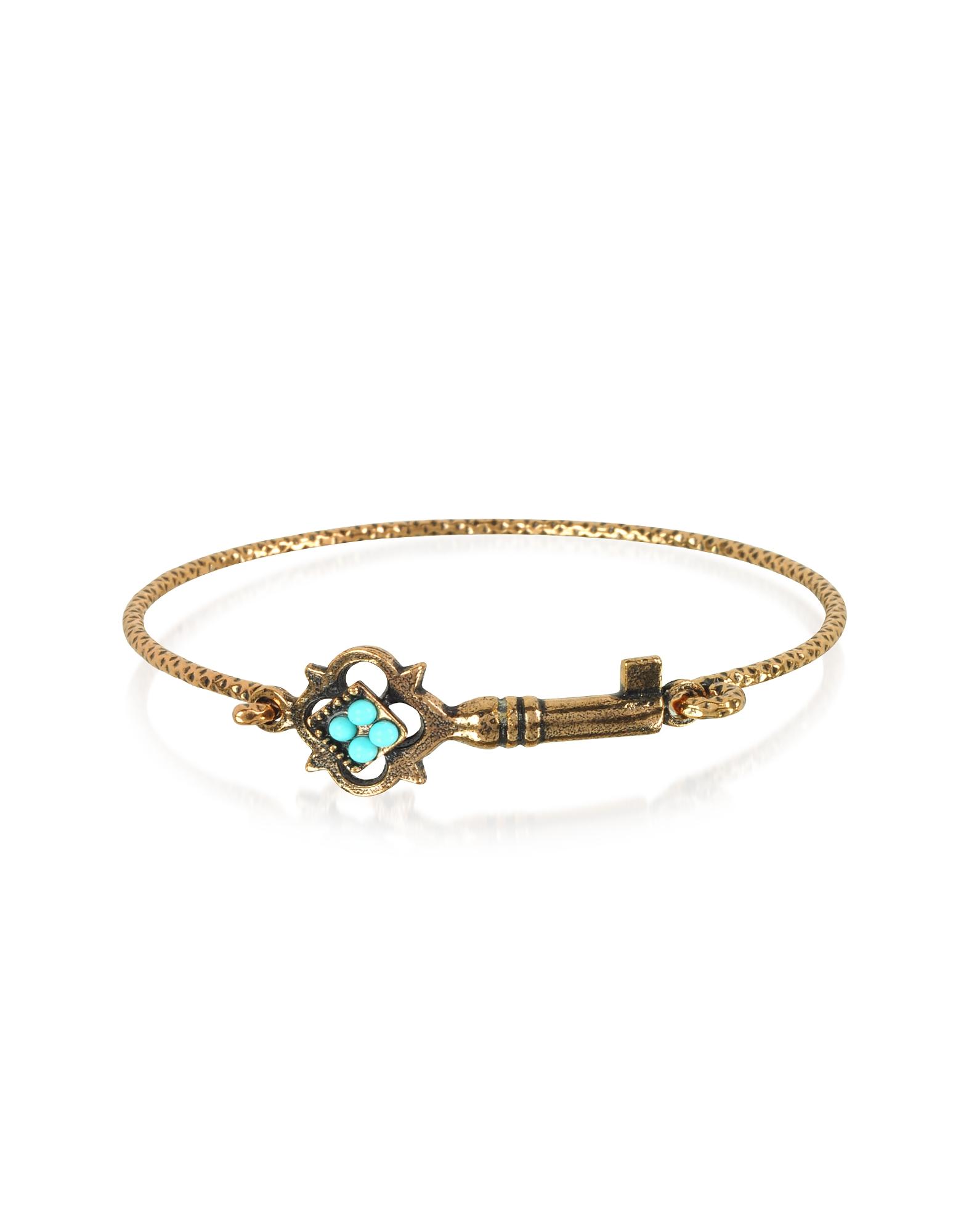 Turquoise Key Bracelet