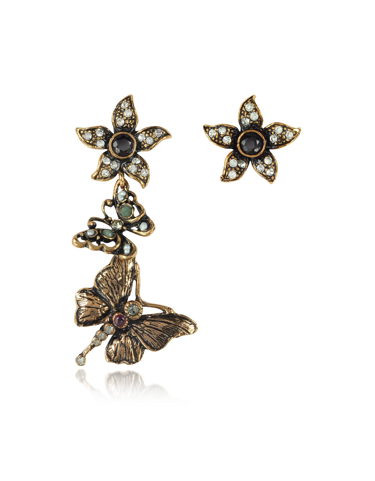 Alcozer & J Earrings, Printemps Earrings