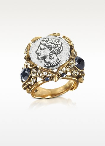 Roman Coin Ring - Alcozer & J