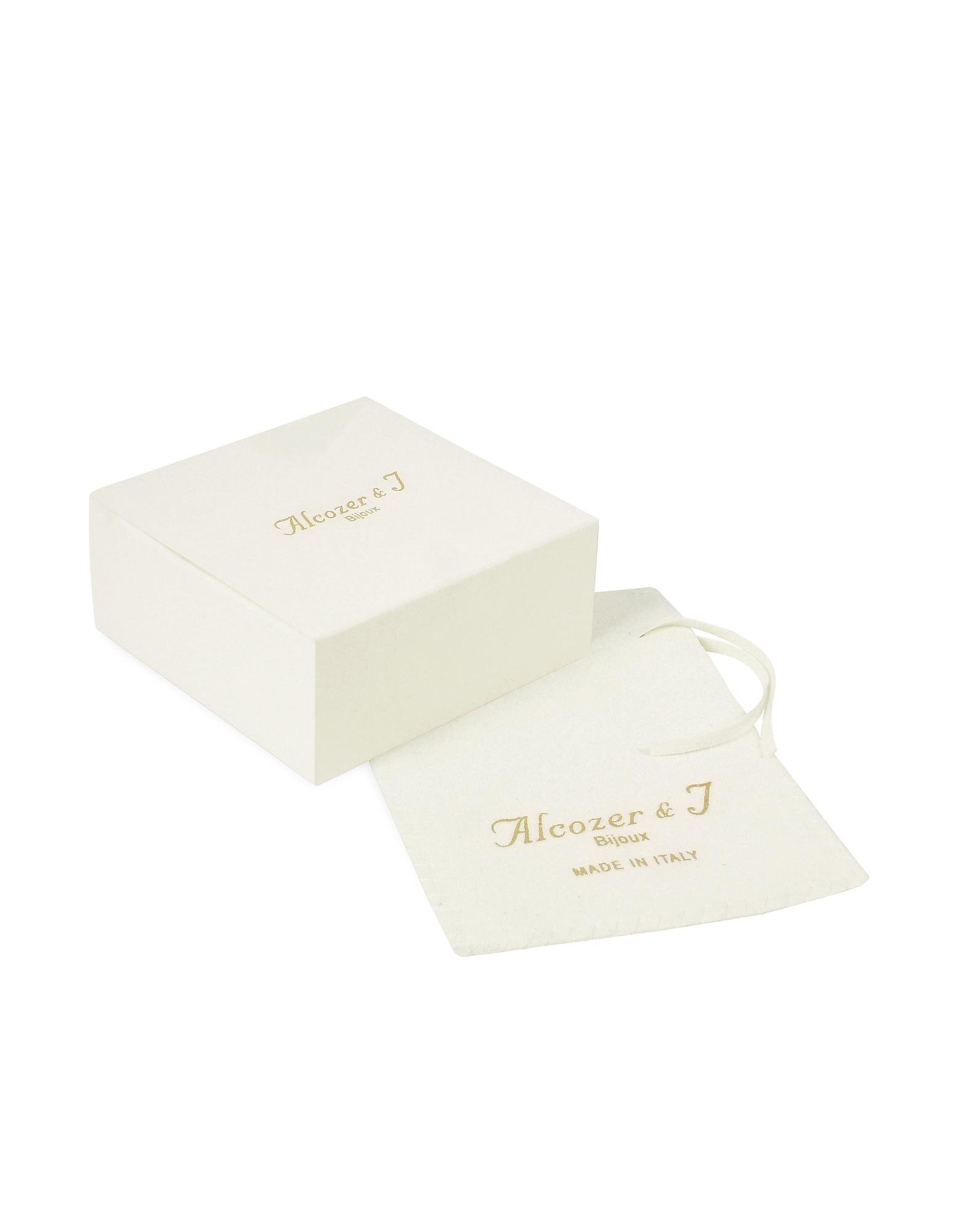 Golden Brass, Gemstones with Little Angels Brooch от Forzieri.com INT