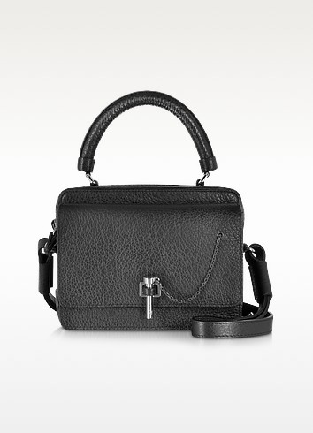 Malher Petit Black Leather Camera Bag - Carven
