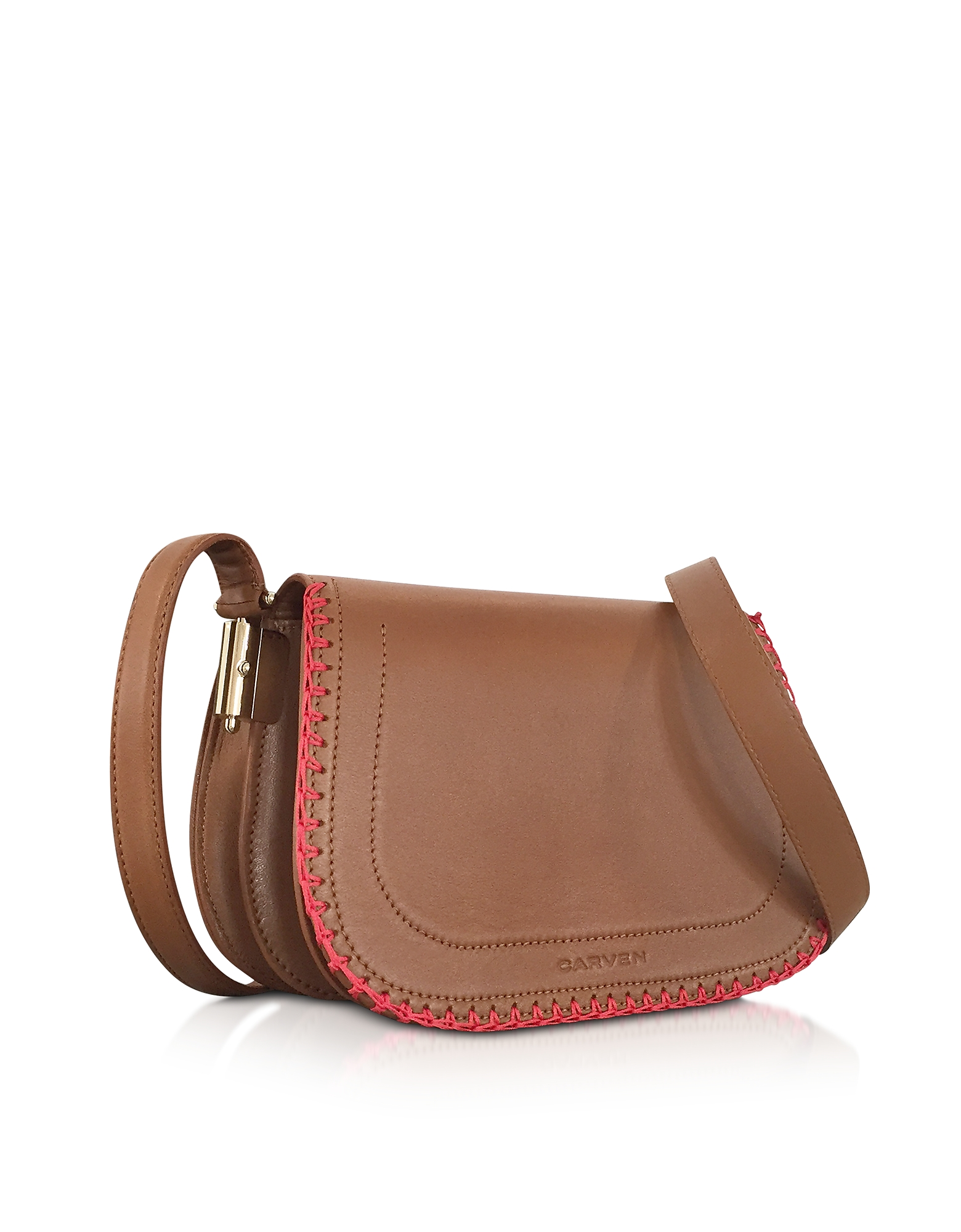 Mazarine Toscane Brown Leather Crossbody Bag от Forzieri.com INT