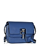 Malher Grained Leather Mini Crossbody Bag - Carven