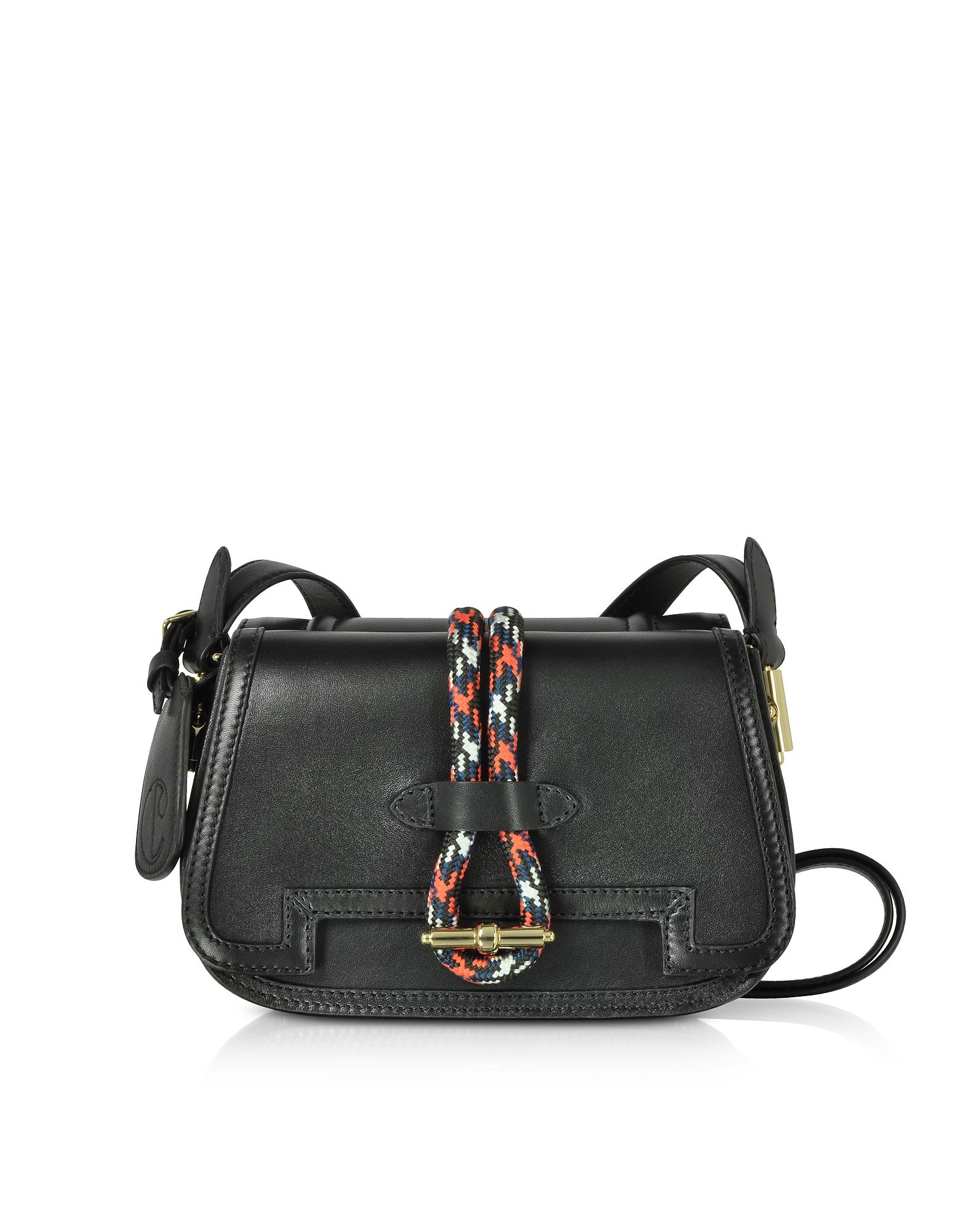 Twin Bag in Pelle con Tracolla