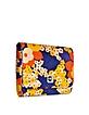 Cady Orange Flower Print Pouch - Carven