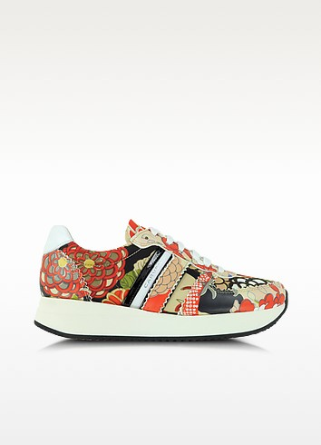 Multicolor Printed Sneakers - Carven