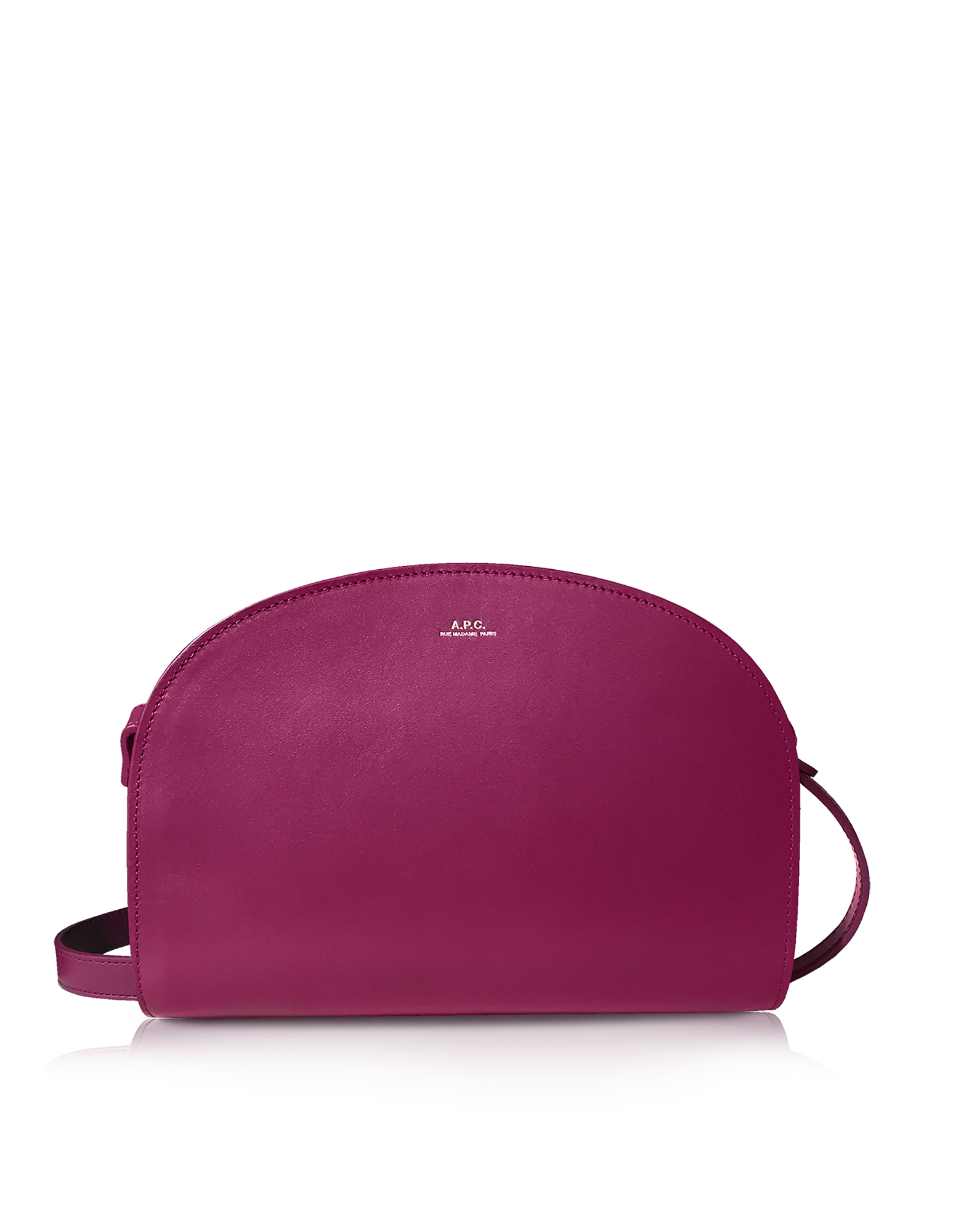 Demi Lune Borsa Crossbody in Pelle