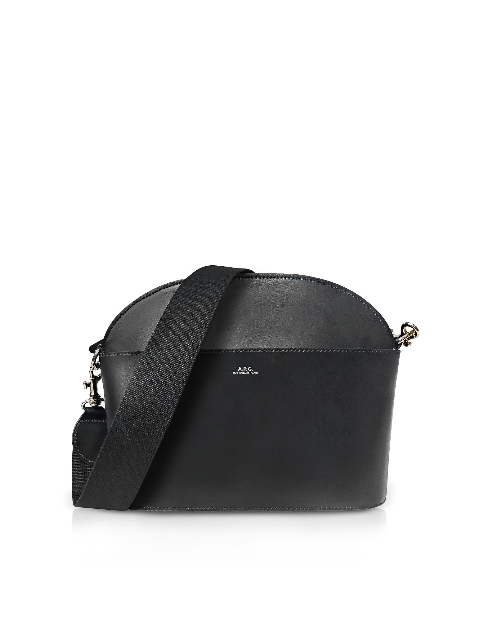 Image of A.P.C. Designer Handbags, Genuine Leather Gaby Shoulder Bag