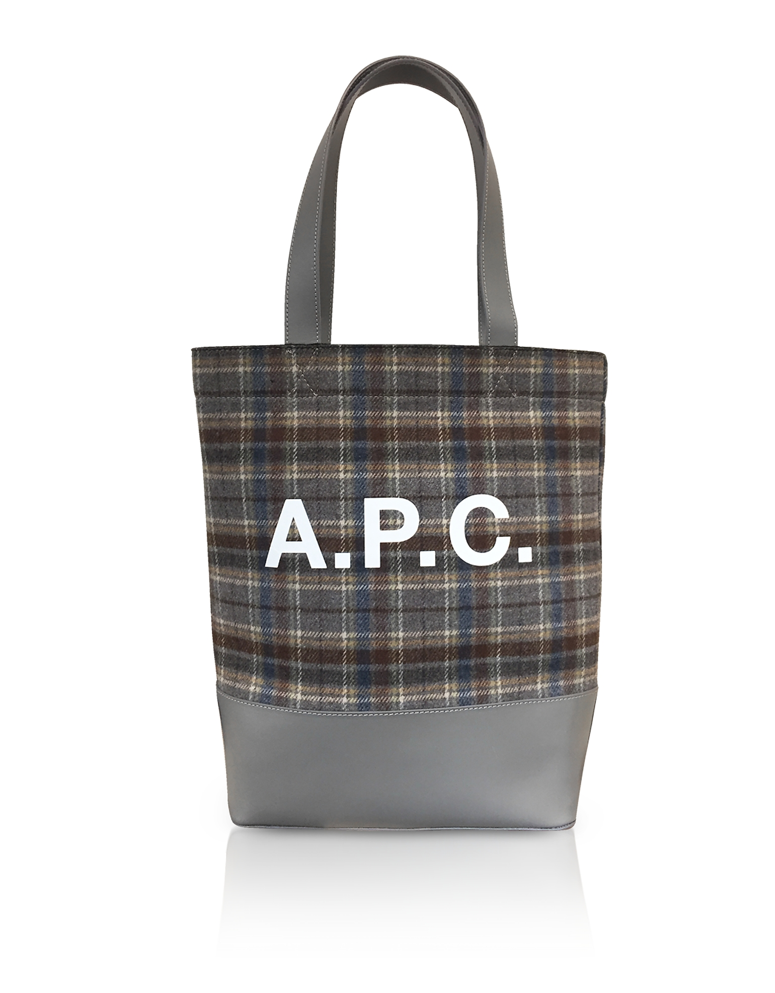 Axel Shopper inTessuto Tartan e Pelle