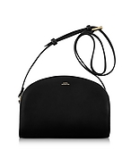 A.P.C. Half Moon Thick Leather Crossbody Bag af130417-002-00