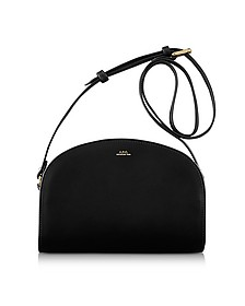 Half Moon Thick Leather Crossbody Bag - A.P.C.