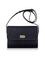 A.P.C. Greenwich Black Leather Crossbody Bag af130417-004-00