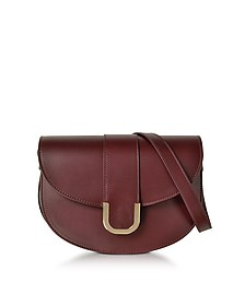 Soho Lie De Vin Leather Crossbody Bag - A.P.C.