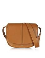A.P.C. Betty Camel Leather Crossbody Bag af130417-010-00