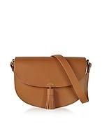 A.P.C. Diane Camel Leather Crossbody Bag af130417-011-00