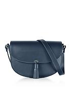 A.P.C. Diane Dark Navy Leather Crossbody Bag af130417-012-00