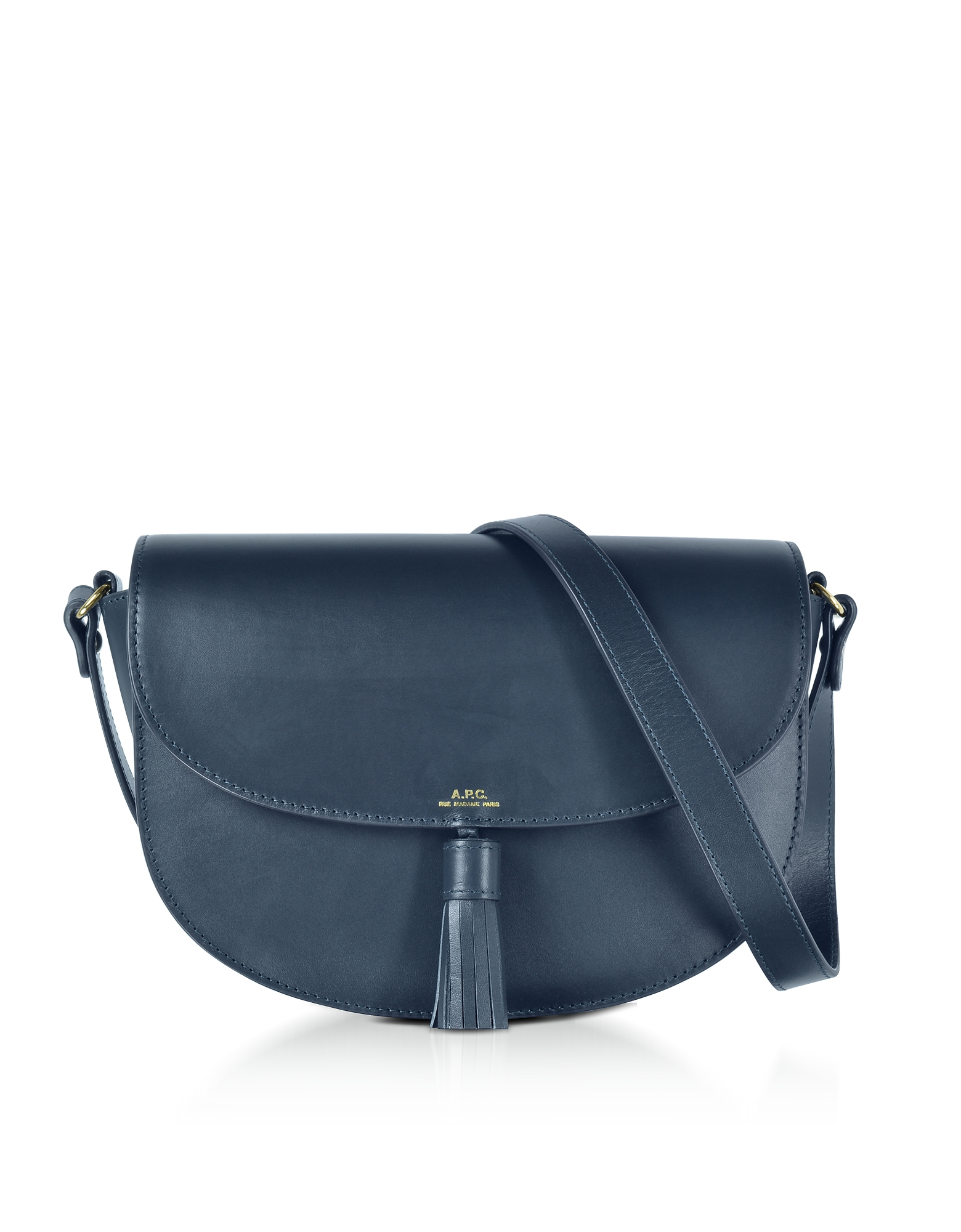 A.P.C. Handbags, Diane Dark Navy Leather Crossbody Bag