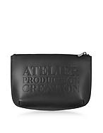 A.P.C. Atelier Noir Leather Pochette af130417-014-00