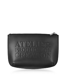 Atelier Noir Leather Pochette - A.P.C.