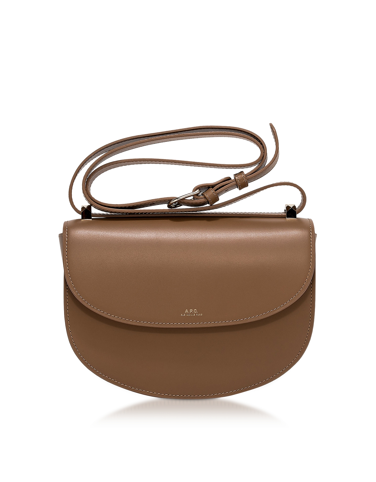 Geneve Smooth Leather Crossbody